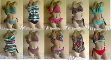 NEW Designer Bikini/Tankini Matching Swimsuit Lot - 20 bikinis - 40 pieces total