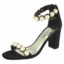 Ladies Anne Michelle Pearl Trim 'Sandals'