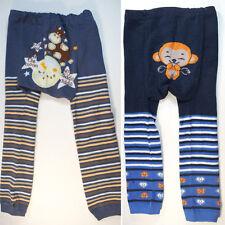 Cow & Monkey Cartoon Busha Baby Toddler Pants Cute Boy Girl Leggings Tight 6-36M