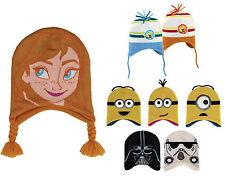 Jacquard Wintermütze Mädchen Junge Minion Minions Spongebob Star Wars Frozen