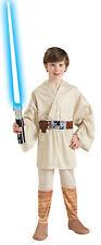 Luke Skywalker Child Star Wars Jedi Knight Master Fancy Dress Halloween Costume