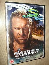 DVD SUMMER SLAM 2007 WRESTLING SILVER VISION SMACK DOWN ECW RAW
