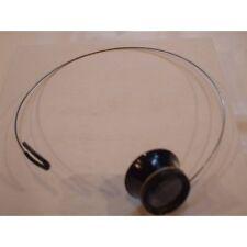 Lente monocolo plastico molla supporto orologiaio Eyeloupe head band watch tool