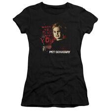 Pet Sematary Horror Movie Stephen King I Want To Play Juniors Sheer T-Shirt Tee