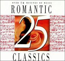 Befreit uns versenden. auf alle 2+ CDs! NEW CD: 25 Romantik Classics Original Recording NEU