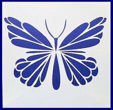 Flexible Stencil *BUTTERFLY* Dainty Garden Small or Medium Card Making Crafts
