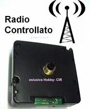MECCANISMO OROLOGIO RADIOCONTROLLATO sempre l'ora esatta (frequ. DCF) SILENZIOSO