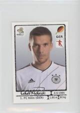 2012 Panini UEFA Euro Album Stickers #244 Lukas Podolski Rookie Soccer Card