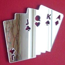 Póquer Tarjetas Espejo acrílico (varios tamaños)