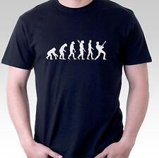 funny t shirt guitar player evolution music musician guitarist rock mens womens