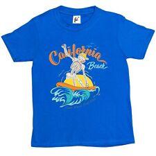 California beach Wave Surf Club Squelette Surf Enfants Garçons/Filles T-Shirt