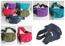 Bum Bag Money Pouch Festival Fanny Pack  Adjustable Strap. 4 Pockets