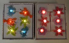 STRING LED LIGHTS FLORAL BEACH SEASIDE CHILDREN'S BEDROOM PLAYROOM