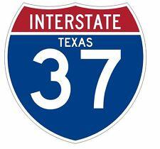 Interstate 37 Sticker Decal R902 Highway Sign