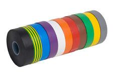 ELETTRICO PVC ISOLAMENTO ROTOLO PER NASTRO 18mm 20m rosso nero bianco blu giallo