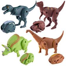 Transform Simulation Dinosaur Model Deformed Dinosaur Egg Collection Toys Gifts