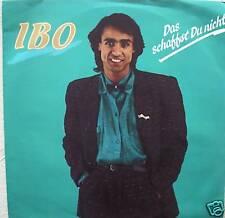 "7"" 1987 KULT! IBO : Das schaffst Du nicht // MINT- ! \"