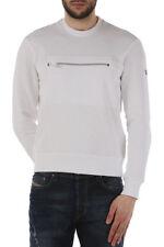 Armani Jeans Felpa Maglia Uomo Col Bianco tg varie | -18 % OCCASIONE |