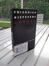 AURORA REFLEXOES SOBRE OS PRECONCEITOS MORAIS BY FRIEDRICH NIETZSCHE 2004