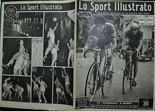 """"""" LO SPORT ILLUSTRATO """" N°12/22.MAR.1951- LA """" SANREMO """" A BOBET-COPPI- PETRUCCI"""
