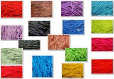 Ovale lacets plain couleurs diverses de longues distances pour la mode baskets chaussures de sport