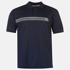 LONSDALE Men's 2 Stripe Polo Shirt T-Shirt Top - Size S to XL Navy - OZ STOCK!