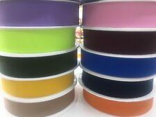 1 M Waist Band 40 mm  FLAT COLOURED Elastic WOVEN Many Colours UK SELLER