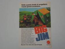 advertising Pubblicità 1975 BIG JIM MATTEL