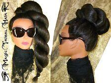 TWIST BRAID RnB Hair Piece ALL COLORS Hip Hop Wig CHIGNON Synthetic Ponytail BUN