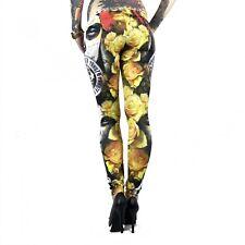 "YAKUZA - Leggings LEB 9144 ""Mexican Rose"" All-Over Print multicolored (bunt)"
