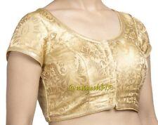 Readymade Saree Blouse,Designer Pure Banarasi Silk Sari Blouse,South India Blous