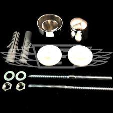 100mm 120mm lavaggio mano bacino Fissaggio Kit Set Bullone Taglie Sanitary Wall Kit di Fissaggio