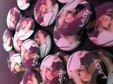 Spilla Pin Badge Button LADY GAGA 25mm Nuova New Cool