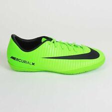 Nike Junior MercurialX Victory VI Indoor  Electric Green/Black/Ghost Green/White
