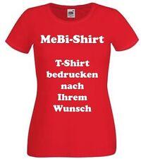 Ladyshirt drucken mit Ihrem Wunschtext, Logo, Firmen, Namen, JGA