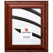 "Craig Frames Premium 2"" Distressed Rustic Brown Picture Frames & Poster Frames"