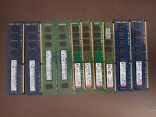 Samsung Kingston Hynix Micron 4GB 8GB 16GB PC3-12800U DDR3 Desktop RAM Lot