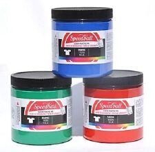 Speedball Fabric Textile Screen Printing Ink 236ml - Choose Colour