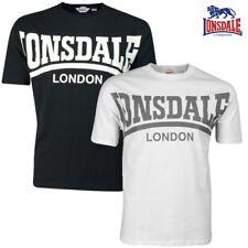 Lonsdale Camiseta Hombre YORK BOXING LONDON S M L Xl Xxl 3xl NUEVO