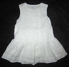 Baby Gap NWT White Pintuck Pleat Portrait Sun Dress 12-18 Months $37