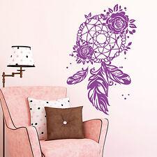 11112 Pegatina Pared Atrapasueños Rosa PLUMA Dreamcatcher Adhesivo de