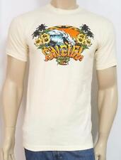 O'Neill Big Island Wave Graphic Tee Mens Ivory 100% CottonT-Shirt NWT