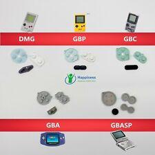 Conductive Buttons A-B, D-pad For Nintendo Gameboy DMG GBP GBC GBA GBASP