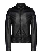 ★Giacca Giubbotto Uomo in di PELLE 100% Men Leather Jacket Veste Homme Cuir R56c