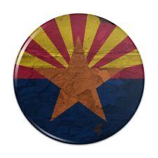 Rustic Arizona State Flag Distressed USA Pinback Button Pin Badge