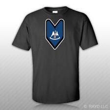 Louisiana Driver Badge T-Shirt Tee Shirt Free Sticker wakaba soshinoya