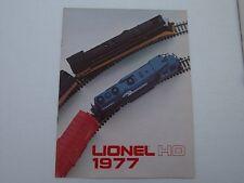 LIONEL TRAIN CATALOG 1977 HO GAUGE VINTAGE UNION PACIFIC NORFOLK WESTERN