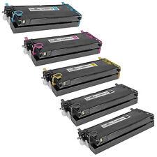 4pk Xerox Reman 6180 113R00726 113R00723 113R00725 Phaser 6180MFP/D 6180MFP/N