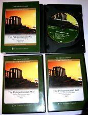 Teaching Co. Peloponnesian War University DVD Course Athens Sparta Persia Delian