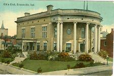 Evansville,In. 1913 View of The Elk's Club